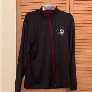 A mens dry fit florida state jacket